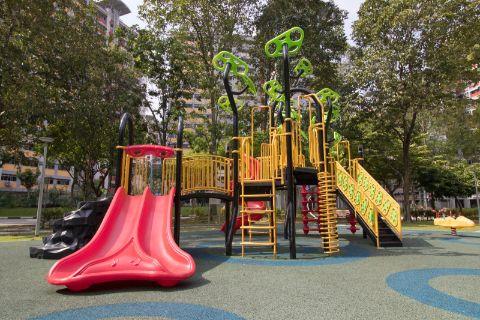 EPDM flooring for parks