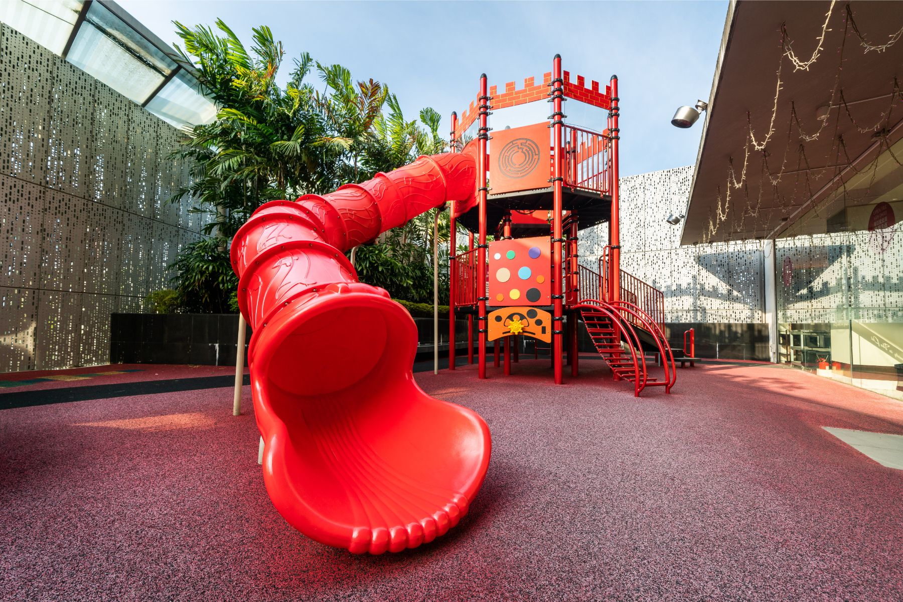 Shopping Mall rubber flooring Singapore